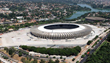 Aerial photo of the completed Mineirão Arena in Belo Horizonte.