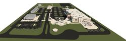 Aerial Rendering of Six Bends, Fort Myers, FL, Scott Fischer Enterprises