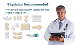NewGel+ Line of Silicone Gel Scar Management Products