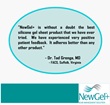 Physician Testimonial on NewGel+ Scar Management Products