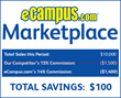 Your Savings With eCampus.com's Marketplace