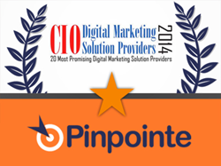 "Pinpointe - ""20 Most Promising Digital Marketing Solution Providers 2014"""