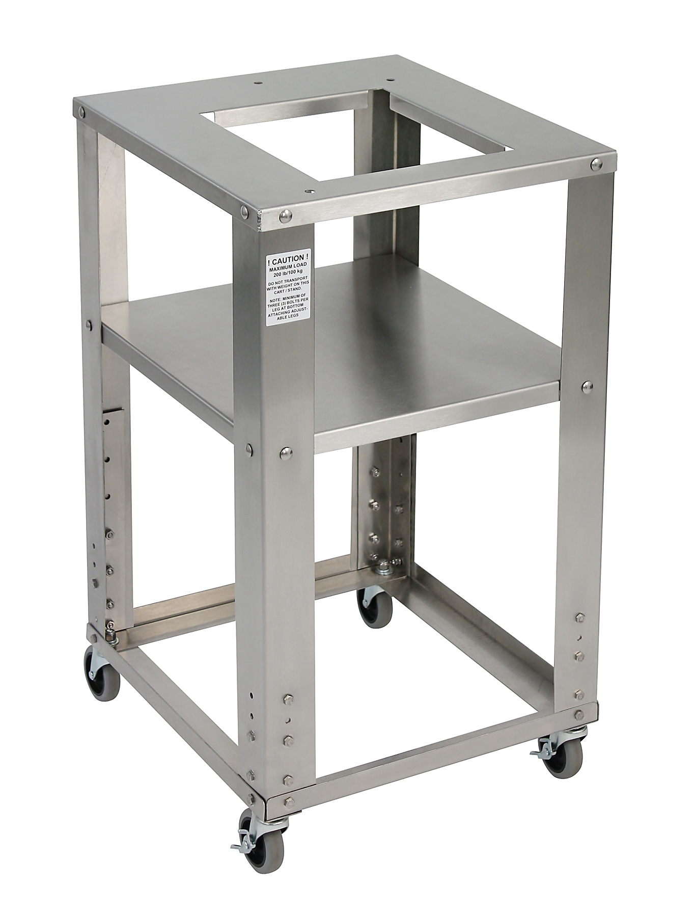 New Stainless Steel Rolling Bench Scale Carts