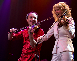 The Masters of Fiddle, Natalie MacMaster and Donnell Leahy, perform June 22 at Cain Park.
