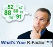 Improve your K-Factor and increase your influence - http://www.karen-keller.com