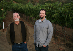 Mike and Lucas Farmer of Euclid Wines