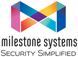 Milestone Systems Security Simplified Logo