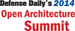 Agenda set for Defense Daily's Open Architecture Summit taking place...
