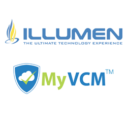 Illuman and MyVCM logos