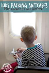 packing kids to travel