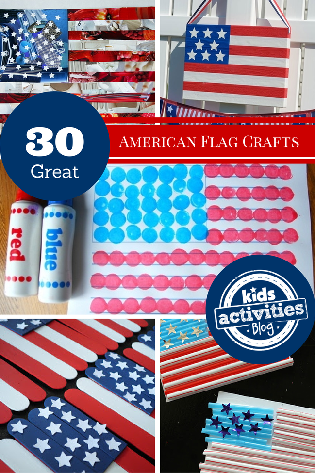30 Fourth of July Crafts Have Been Released on Kids Activities Blog