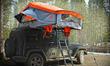 Treeline Roof-Top Tent on Jeep