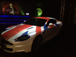 Projection Mapping on an Aston Martin DB9