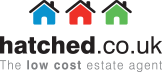 Hatched - the low cost online estate agent Logo
