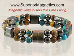 Gemstone Magnetic bracelet