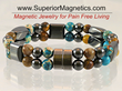 New Gemstone Magnetic Bracelet Released by Superior Magnetics