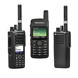 The 7000 Series of two-way radios from Motorola Solutions includes the XPR7550, the SL7550 and the XPR7350.