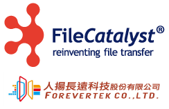 FOREVERTEK and FileCatalyst logos