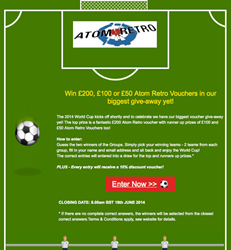 Atom Retro's World Cup Competition