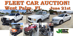 West Palm Beach, FL used car auction June 21st, 2014