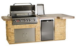 Outdoor kitchen islands grill components grill accessories from Bull Outdoor Products available at Best in Backyards