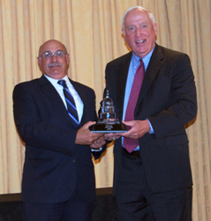 Paul Yarossi, PE, President, HNTB Holdings Ltd, and Pete Ruane, President and CEO, ARTBA