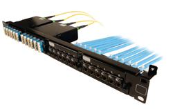 Siemon launches copper/fiber combo panel
