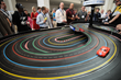 3D Printed Slot Cars racing at RAPID