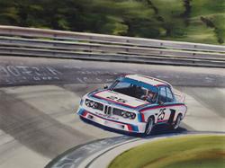 BMW CSL Print