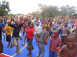 Youth on a Connor Sport Court in Tanzania