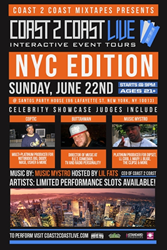 Coast 2 Coast LIVE Comes To New York City June 22, 2014!