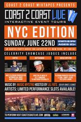 Coast 2 Coast LIVE Comes To New York City June 22, 2014!
