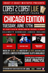 Coast 2 Coast LIVE Comes To Chicago, Illinois June 17, 2014!