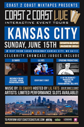 Coast 2 Coast LIVE Comes To Kansas City, Missouri June 15, 2014!