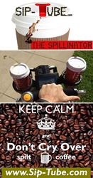 Coffee Spill, Leaky Lids, Al Santos, Never Spill Coffee Again, Splash Free on the Go