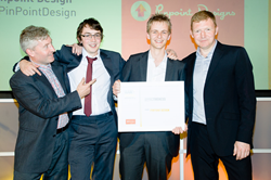 Pinpoint Designs wins Best Agency for Effectiveness