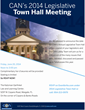 Community Advocacy Network (CAN) to Host Annual Legislative Town Hall