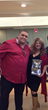 Pop Retro Music Artist Chris Rudd and Publicist Yvette Morales attend Holiday Charity Event for Kids