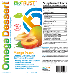 BioTrust Omega Dessert Review