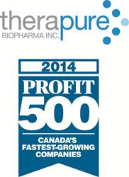 Therapure Profit 500 Logo