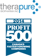 Therapure Biopharma Inc. Ranks within the Top 5% on the 2014 PROFIT 500 List of the Fastest Growing Companies in Canada