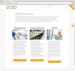 Software provider, 2020 Technologies' new name, logo, website and visual identity are designed to highlight the integration and breadth of 2020's solution