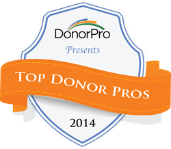 Top Donor Pros Announced
