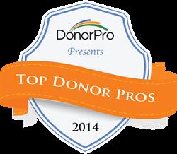 Top Donor Pros Announced