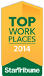 Spanlink honored by Star Tribune as a 2014 Top Workplace