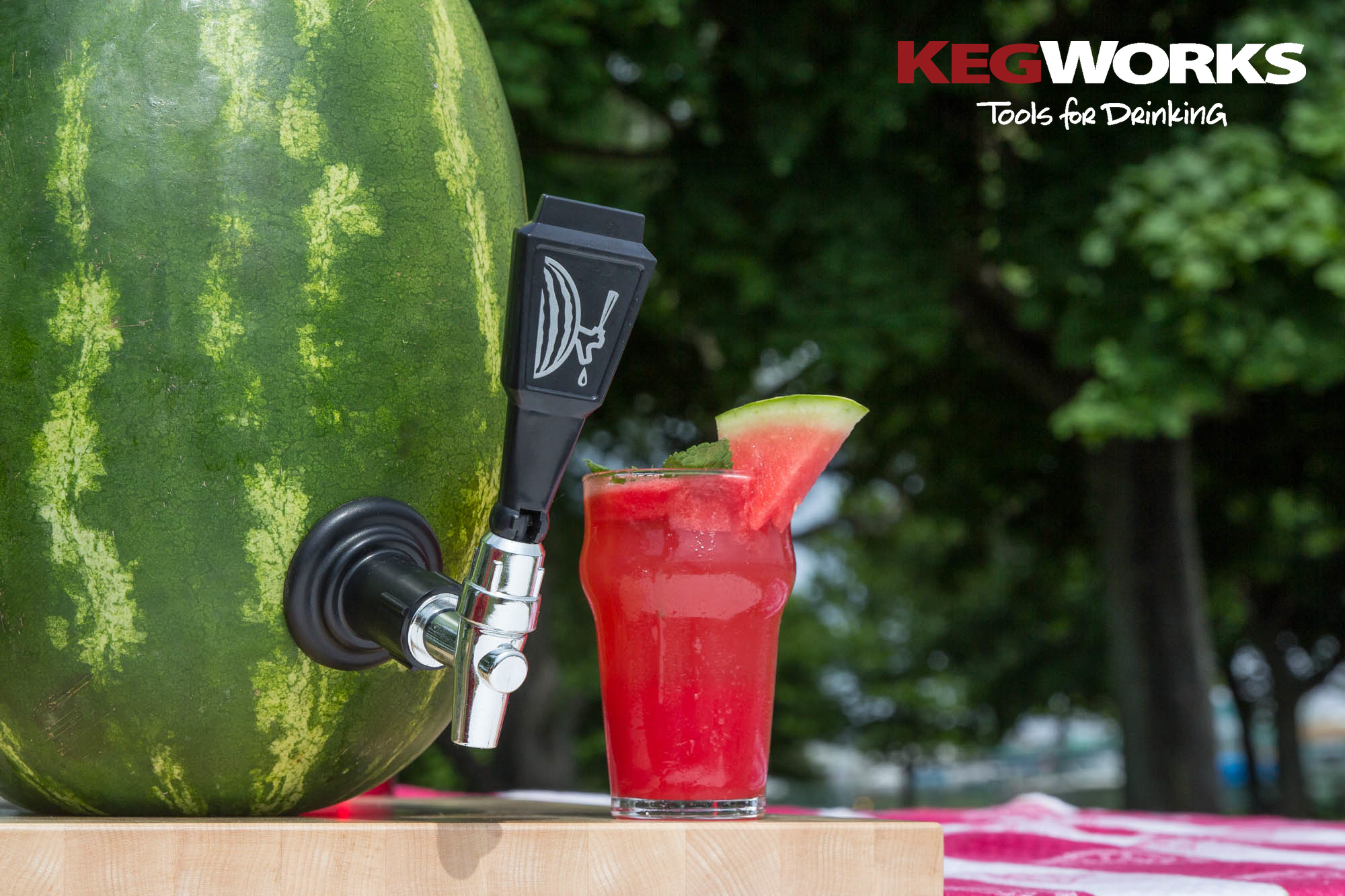 Turn an Ordinary Watermelon into a Drink-Dispensing Keg with The ...