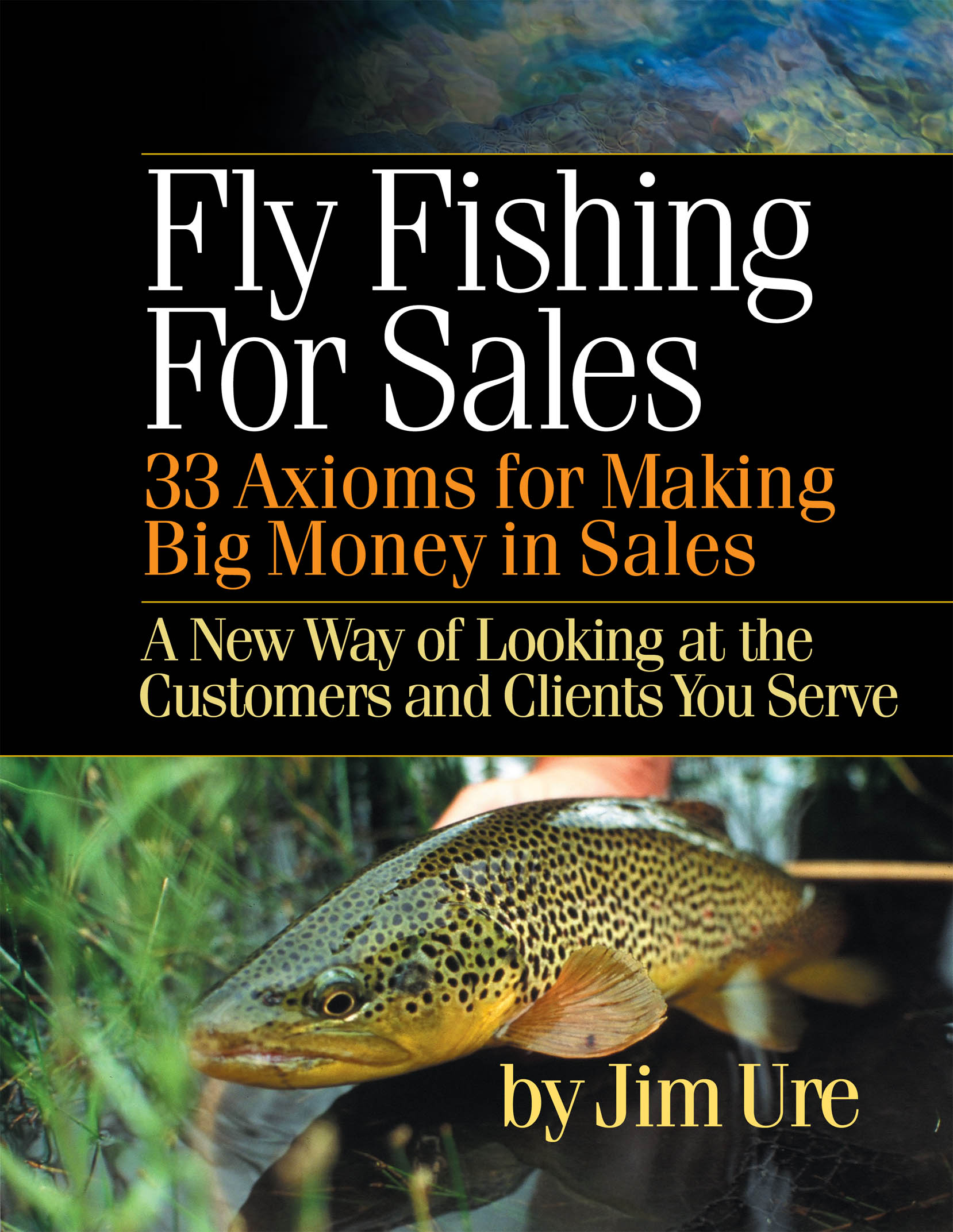 New fly fishing for sales book by jim ure is now for Fly fishing sale