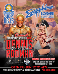 Dennis Rodman - Craziest Father's Day Pool Party Ever