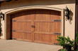 Beautiful Wood Garage Door