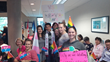 Participants at Vancouver School Board hearings on LGBTQ policy updates.